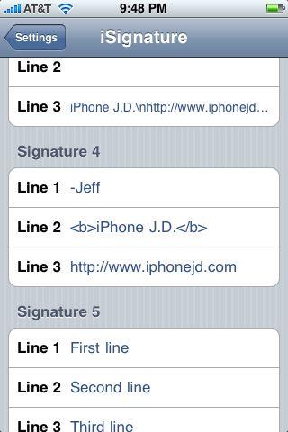 Review: iSignature - sophisticated e-mail signature
