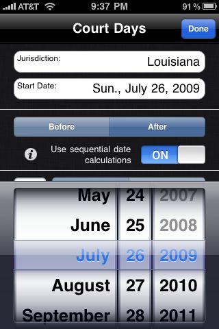 Court date calculator
