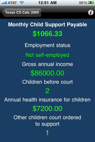Printables Texas Child Support Worksheet review texas child support calculator determine guideline img 0430 0429