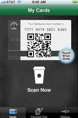 StarbucksMyCard