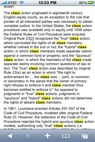 Google Scholar -- access free caselaw on your iPhone - iPhone J D