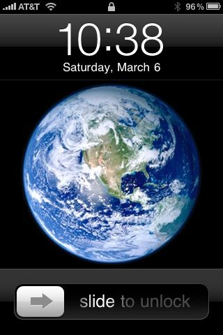 It By Going To Settings Wallpaper Is The Second Image Provided Apple Here What Looks Like As A On An IPhone