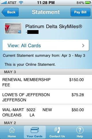 Review American Express View Your Account Balance And
