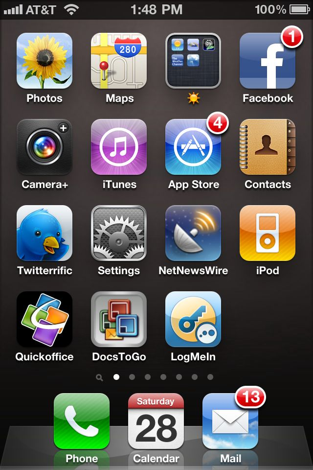 Missing Safari And Camera Icons On The Iphone Iphone Jd