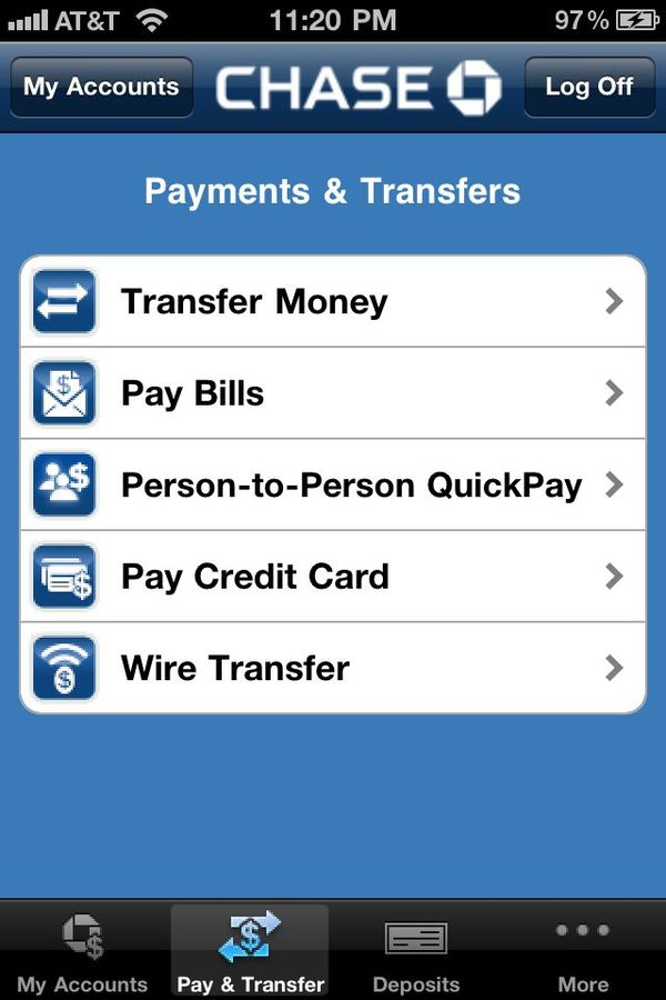 Review: Chase app -- access your account and even deposit checks on ...