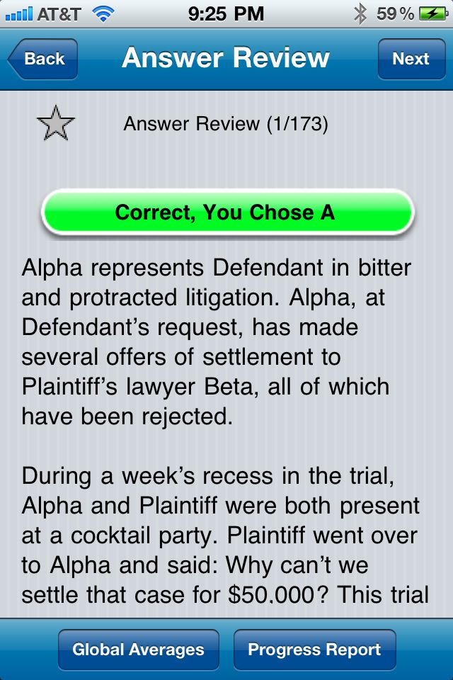 Review: BarMax -- study for the bar exam on your iPhone or iPad