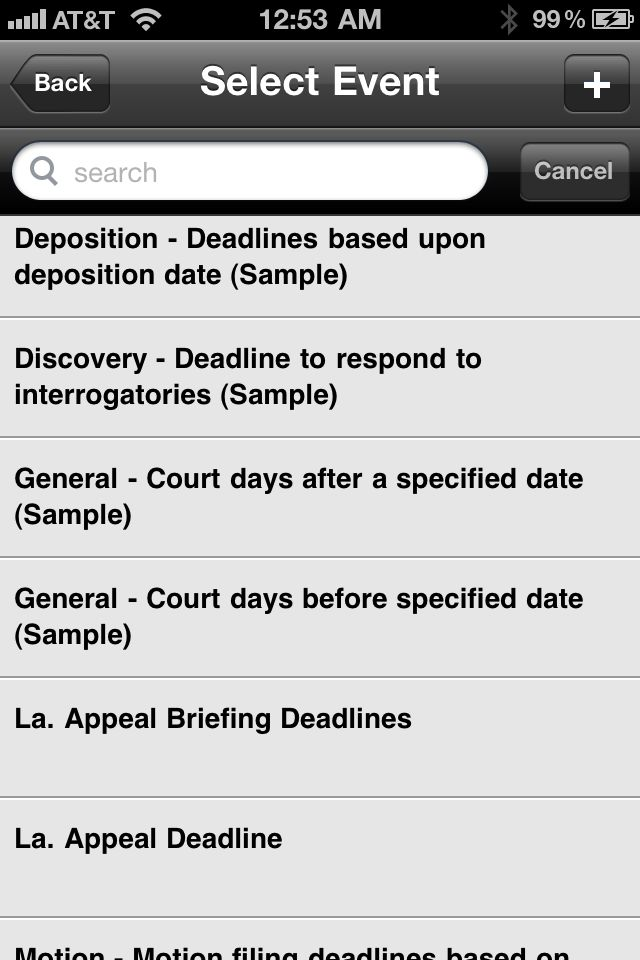 Review: Court Days Pro -- calculate dates on your iPhone