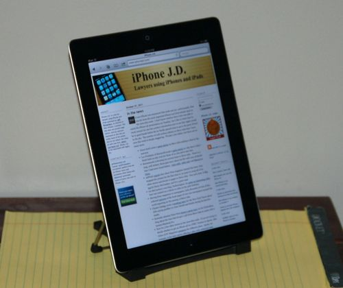 Review: ITilt By Bracketron -- IPad Stand