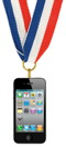 Gold-medal iphone