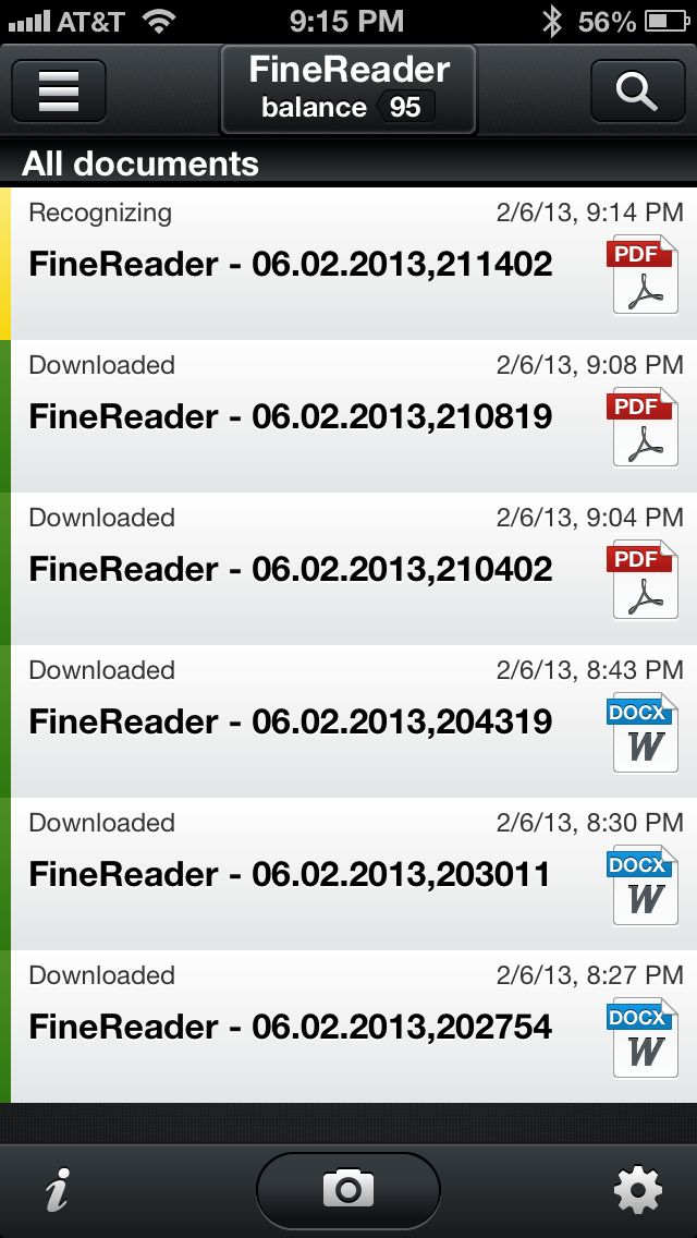 Review: ABBYY FineReader Touch -- scan, OCR, convert to Word