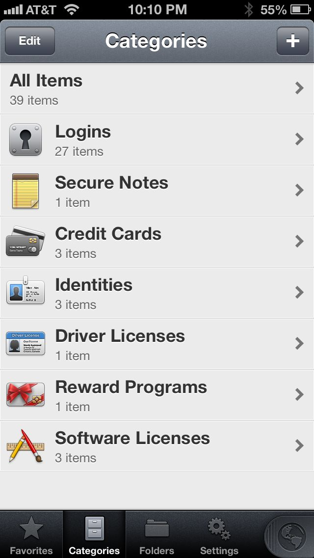 Review: 1Password -- password manager for iPhone and iPad - iPhone J D
