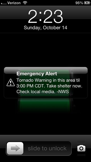 Wireless Emergency Alerts On The Iphone Iphone J D