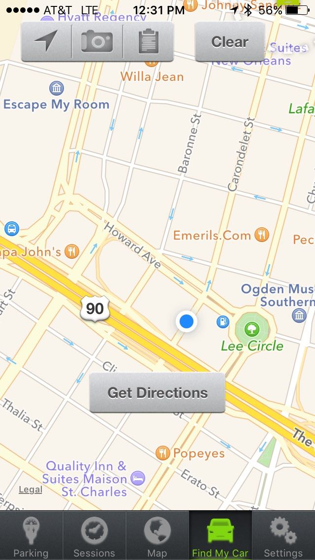 Review: Parkmobile -- pay for street parking on your iPhone - iPhone