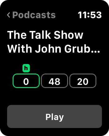 how to play podcasts on iphone