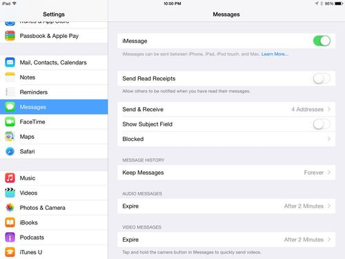 iPad tip -- turn off Messages if you share your iPad - iPhone J D