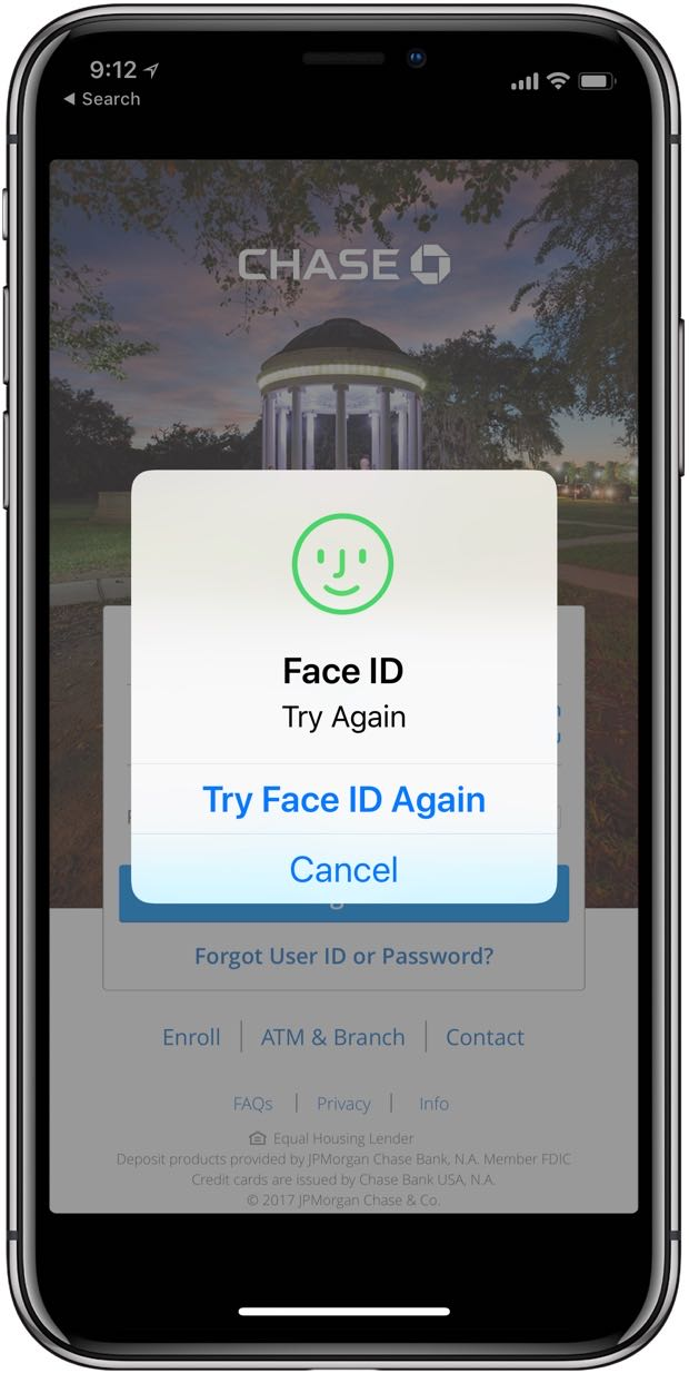 Face ID tip for non-recognition - iPhone J D