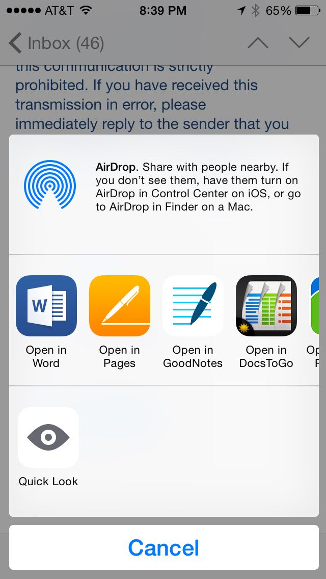 Review: Microsoft Word for iPhone and iPad -- view and edit