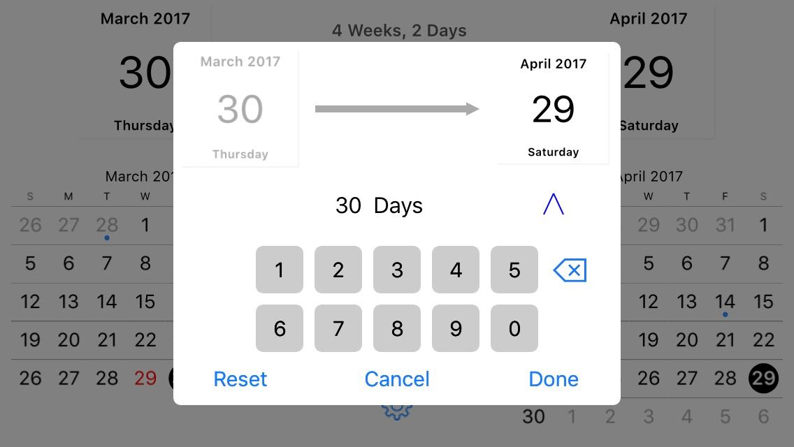 Review: Time Jump -- date calculator for the iPhone - iPhone J D