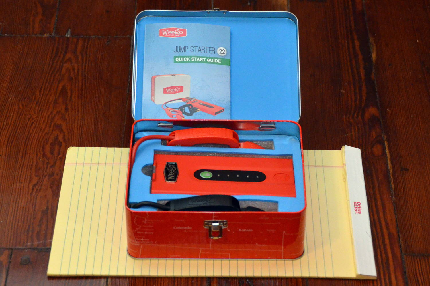Jump Box For Cars >> Review Weego Jump Starter 22 Jump Start Your Car Battery