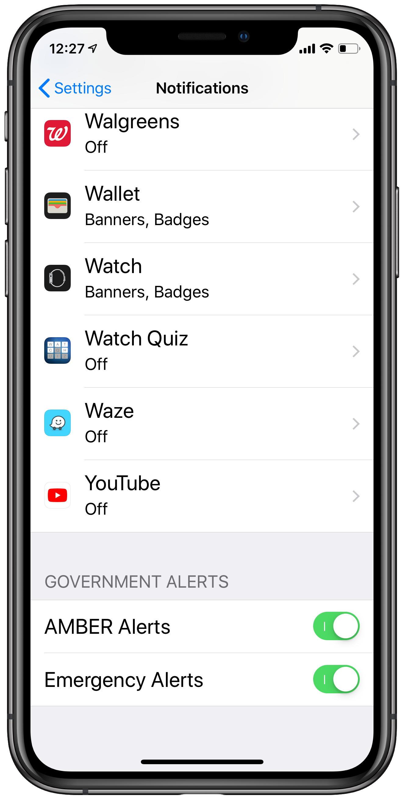 Presidential Alert coming tomorrow, October 3  - iPhone J D