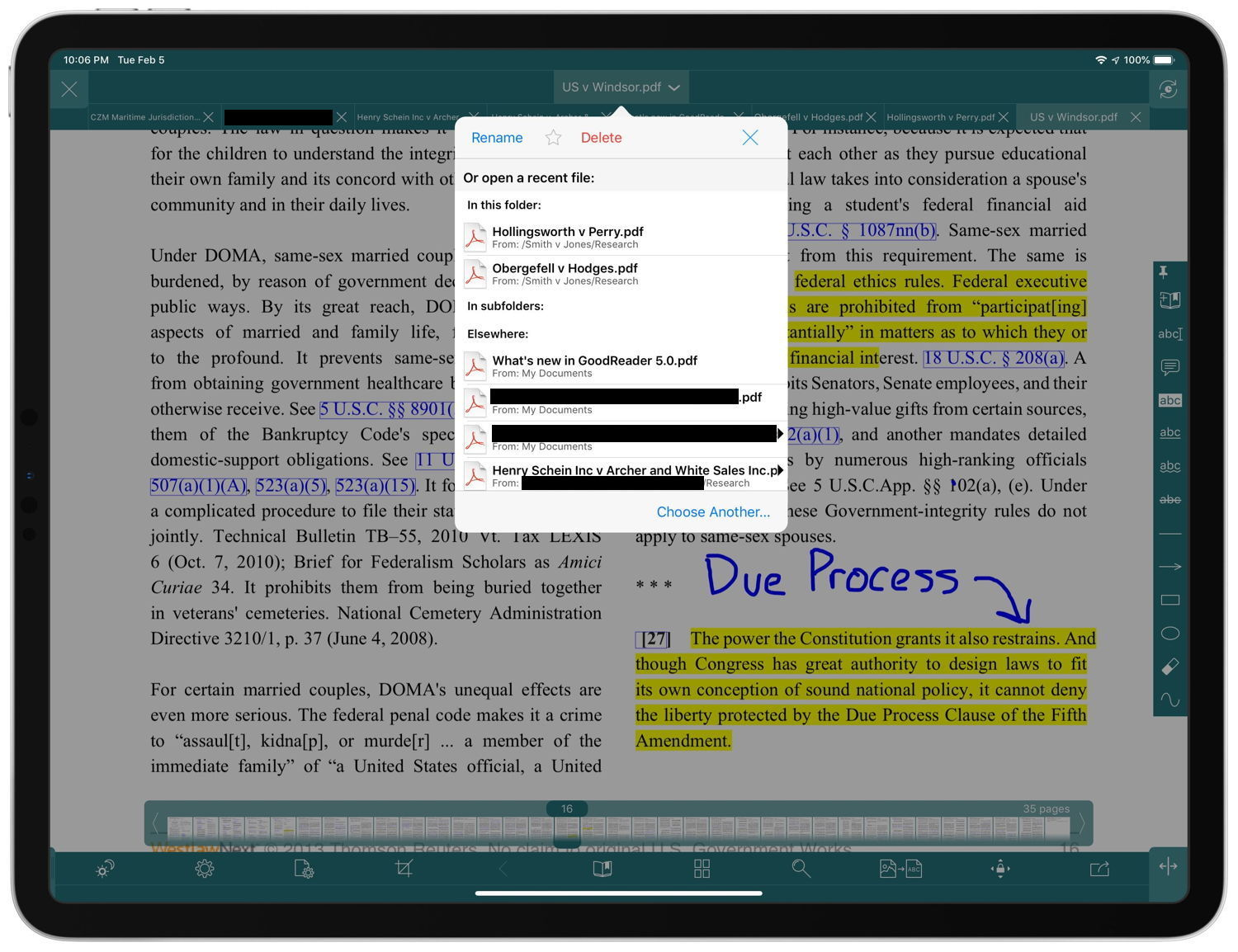 Review: GoodReader version 5 -- new features for an old favorite