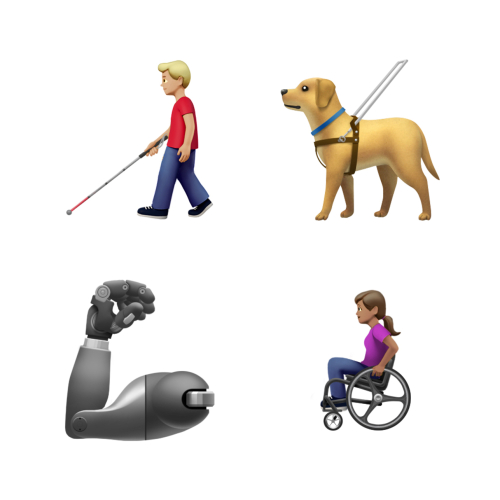Apple_Emoji-Day_Disability-Arm-Dog_071619
