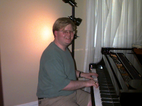 Jeff at piano
