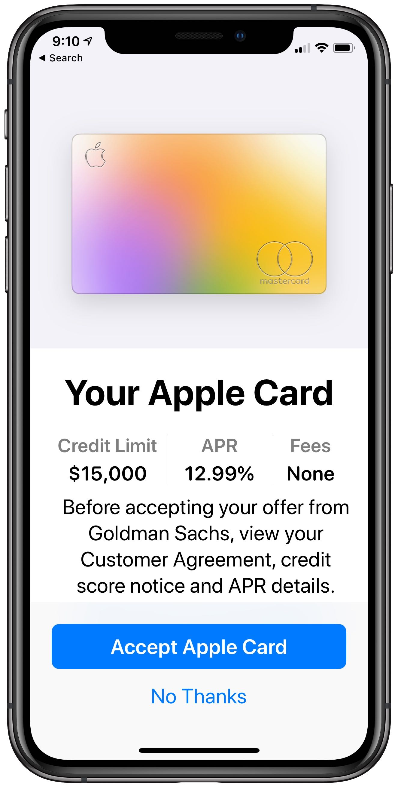 Apple Card -- the credit card from Apple -- is now available